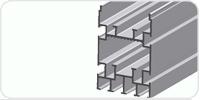 66 X 98 Makaralı Zincir Profili